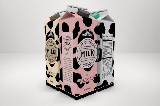 Boxed Drinks Liquid Packaging Mockups