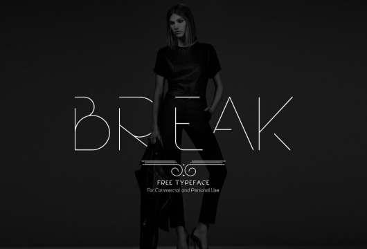 Break - Free Typeface