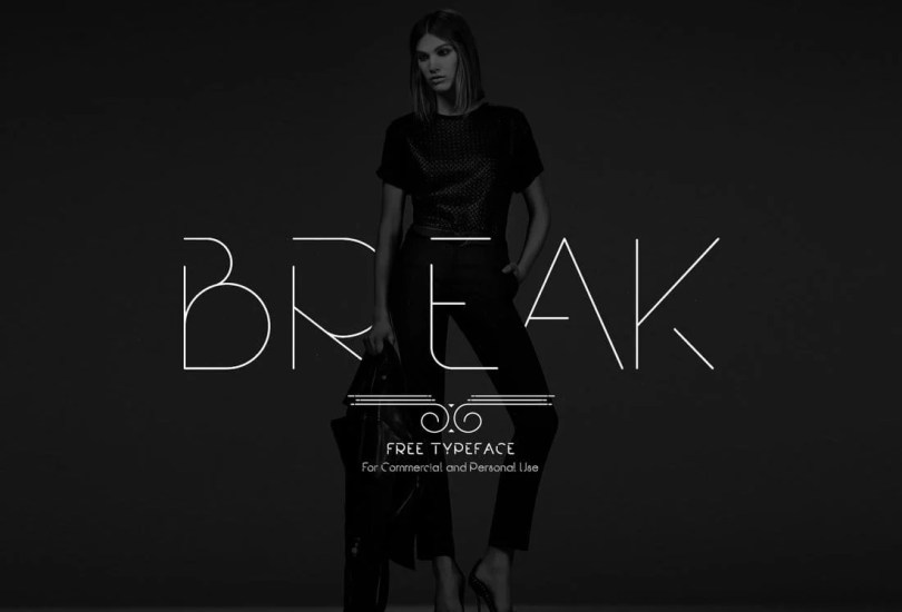 Break - Free Typeface