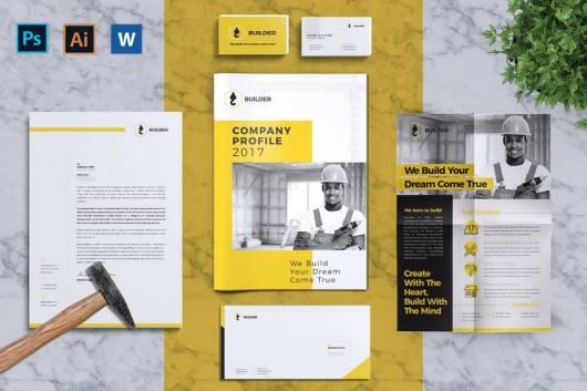 Builder - Complete Corporate Identity Templates