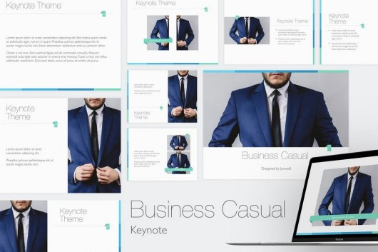 Business Casual - Keynote Template