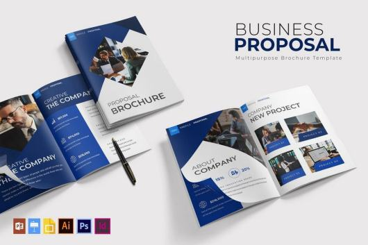 Business Proposal Brochure Template