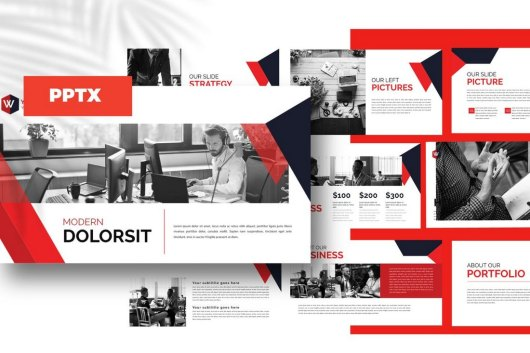 Bussiness Corporate - Powerpoint Template