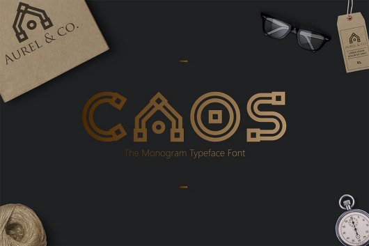 CAOS - The Logo Typeface