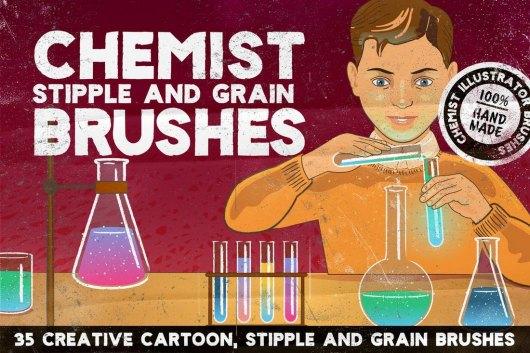CHEMIST Illustrator Brushes