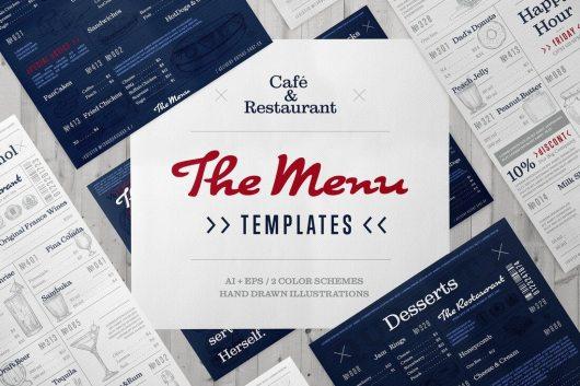 30 best food drink menu templates irc web services