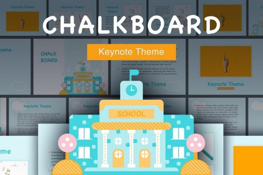Chalkboard Keynote Template