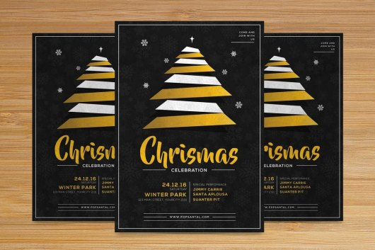 Christmas Flyer Church Bulletin Template