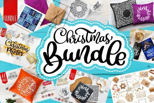 Christmas Overlays, Cliparts, & Graphics Bundle