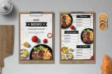 50+ Best Food & Drink Menu Templates Design Shack