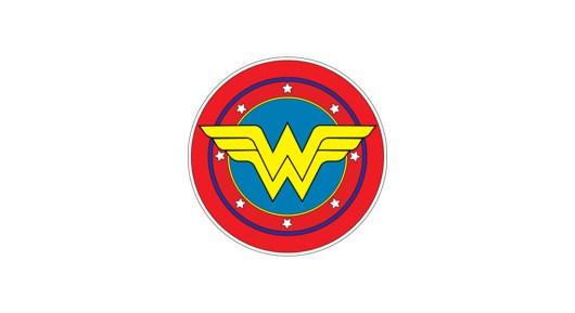 Classic Wonder Woman Logo Template