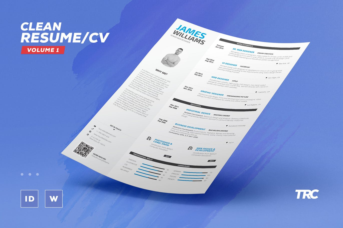 The Best CV & Resume Templates: 50 Examples 12