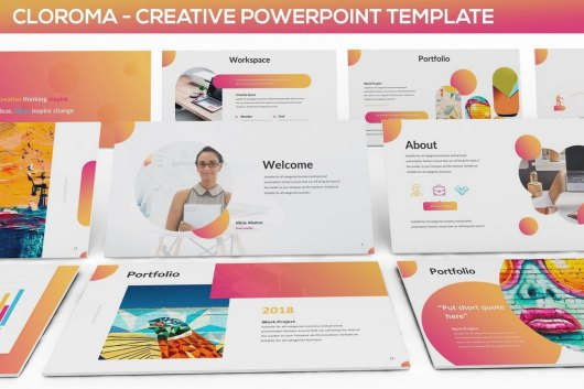 Clorama - Creative Presentation Template