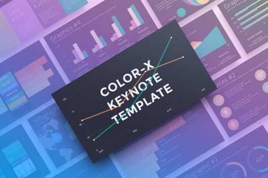Color-X - Animated Keynote Template