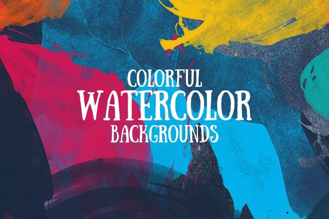 20+ Best Watercolor Background Textures 34