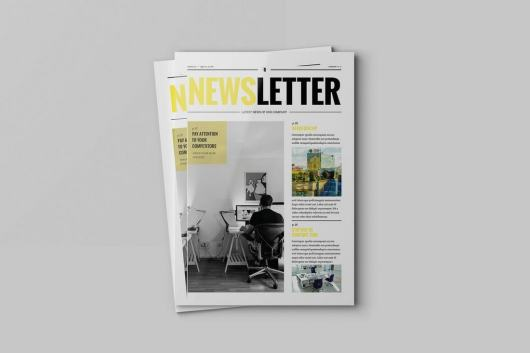 Creative Agency Newsletter Template