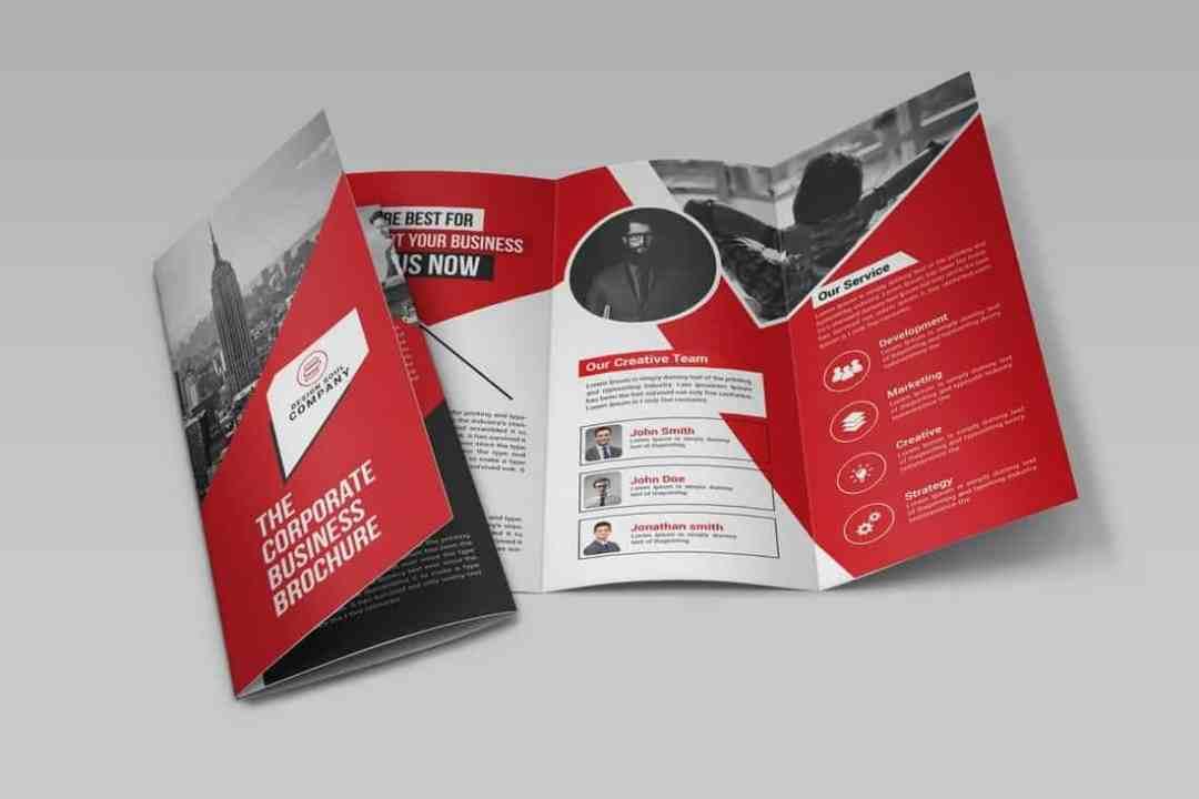 20+ Best InDesign TriFold Templates - Absolutezero studio - web
