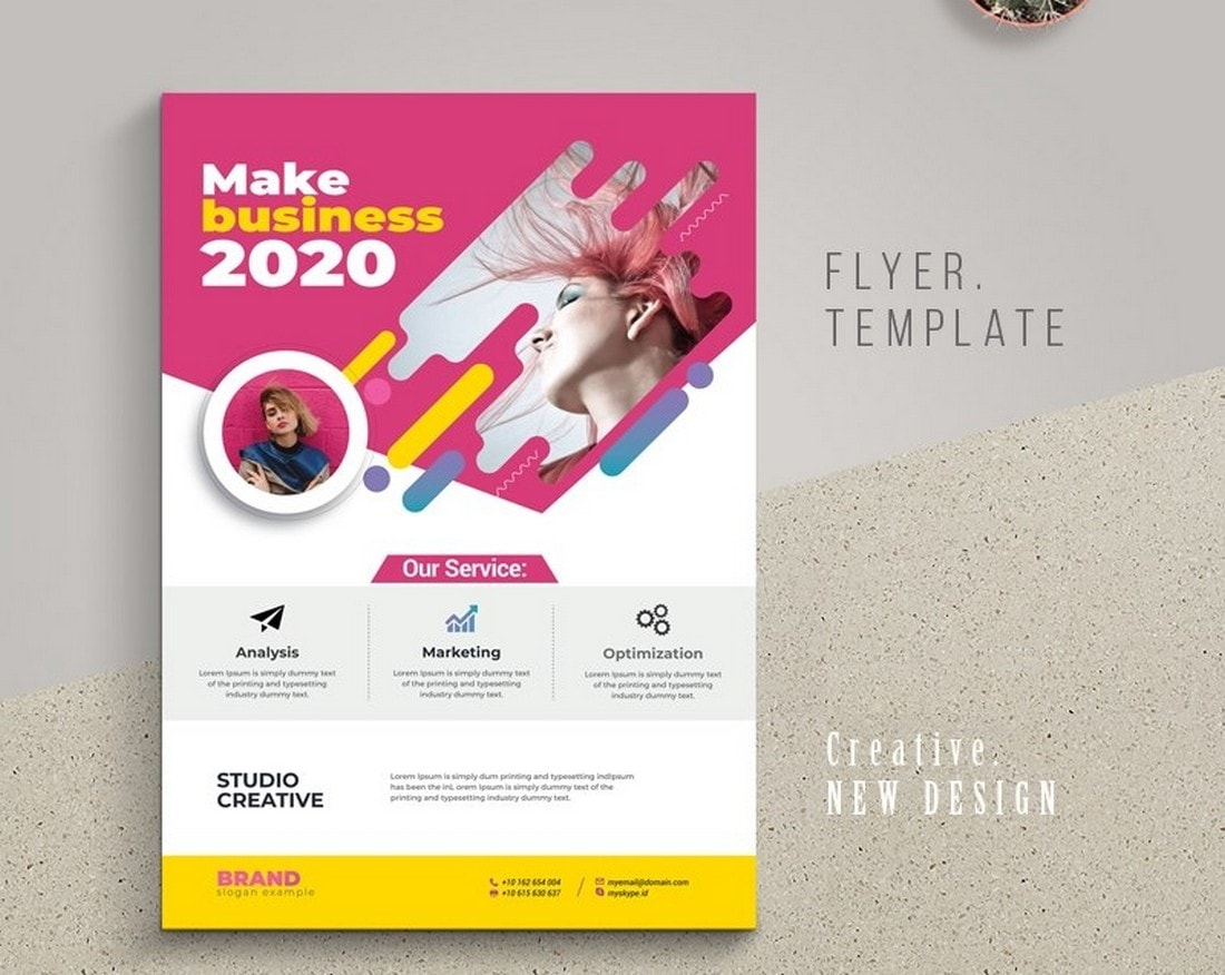 best free poster templates illustrator