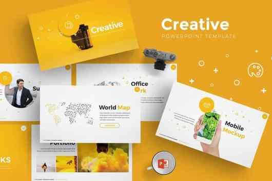Creative - Modern Powerpoint Template