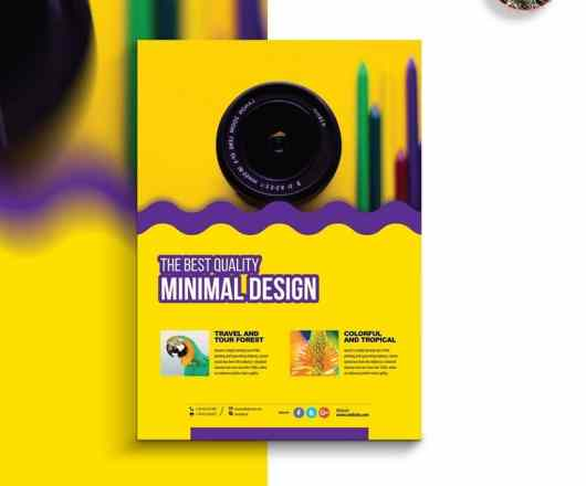 Creative Photography Poster Template