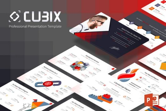 Cubix - Technology Powerpoint Template