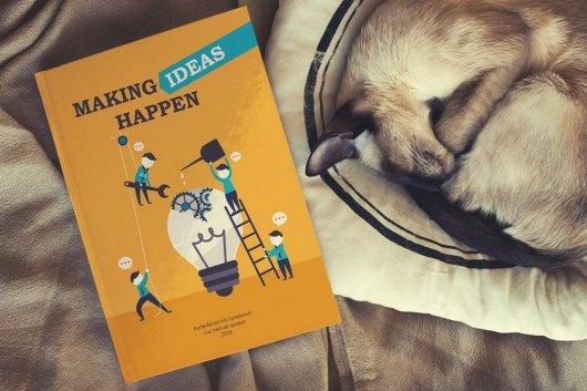 Cute Book Cover Mockup Template