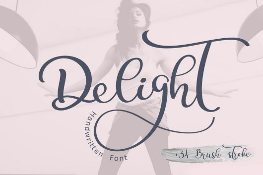 Delight Calligraphy
