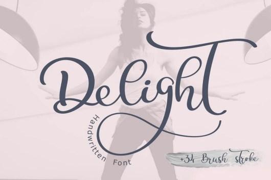 Delight Calligraphy