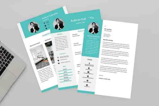 Designer CV & Resume Template