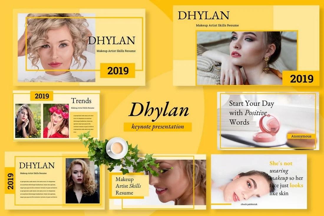 Dhylan Beauty Salon Keynote