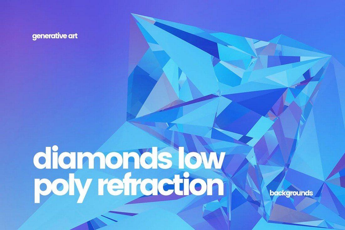 20+ Beautiful Geometric & Polygon Background Textures 41