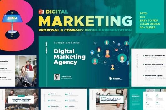 Digital Marketing Agency Keynote Presentation