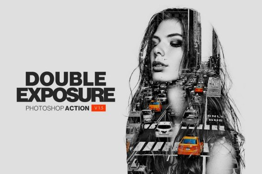 Double Exposure - Photoshop Action