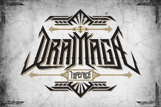 Dramaga Gothic Typeface