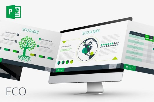 ECO Animated PowerPoint Template