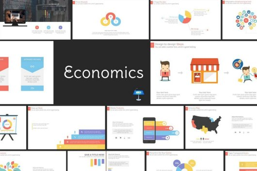 Economics Pro - Keynote Presentation Template