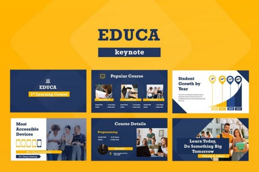 Educa Keynote Presentation Template