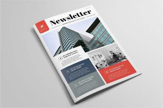 Elegant Business Newsletter Template