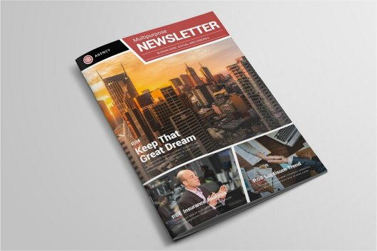 Elegant Church Newsletter Template