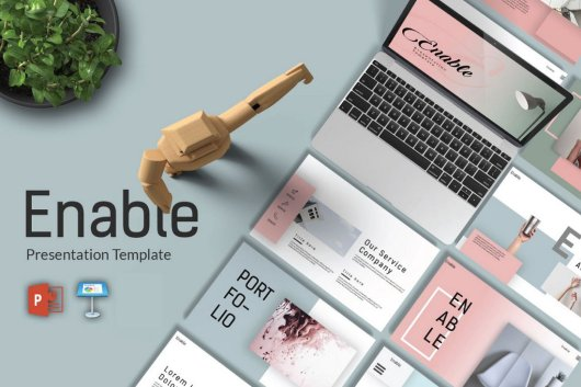 Enable - Free Presentation Template