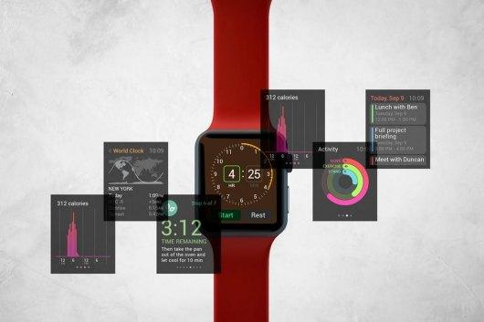 Enterprise Apple Watch Mockup