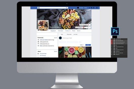 20+ Best Facebook Cover & Post Mockups