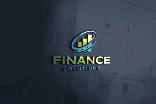 Finance Solutions Logo Design