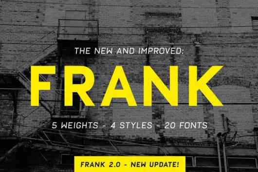 Frank - Bold Font Family