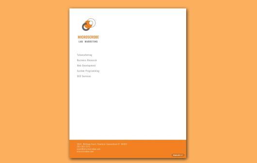 Free Business Marketing Letterhead Template