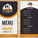 50 Best Food Drink Menu Templates Design Shack