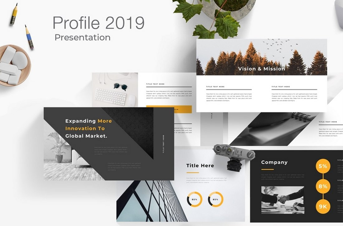 Enter details pertaining to what channels would best reach this client profile, if promotions are applicable, and which new. 40 Best Company Profile Templates Word Powerpoint Design Shack