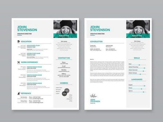 Free Modern 3-Page Resume Template