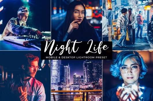 Free Night Life Mobile & Desktop Lightroom Preset