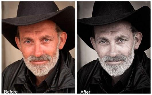 Free Portrait Instagram Photoshop Filter